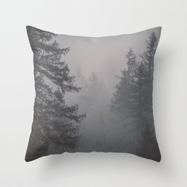 Forest Empire Throw Pillow
