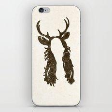 Deer Woman iPhone & iPod Skin