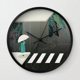 let it rain Wall Clock