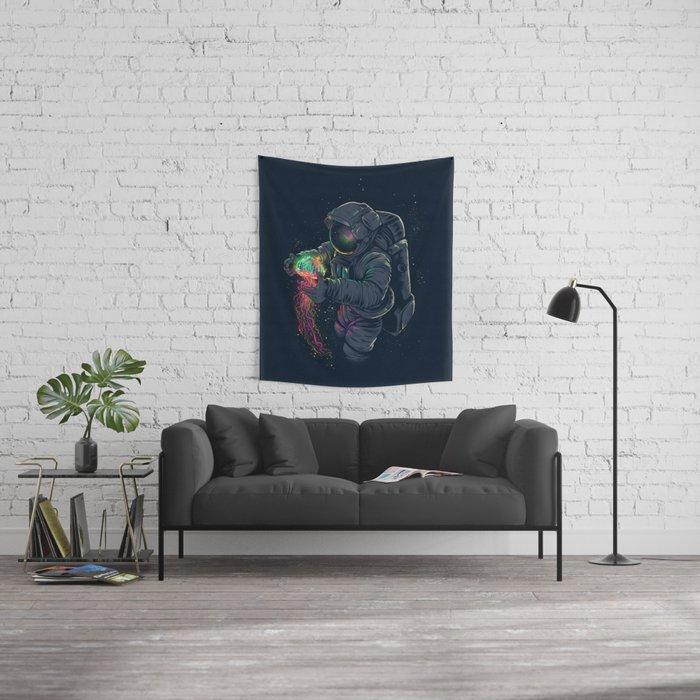 Jellyspace Wall Tapestry