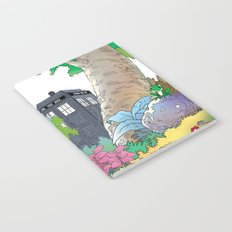 Tardis illustration Notebook
