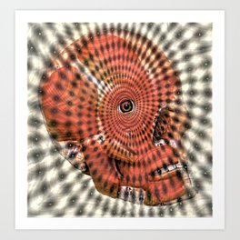 Visionary ˈvɪʒ(ə)n(ə)ri Art Print