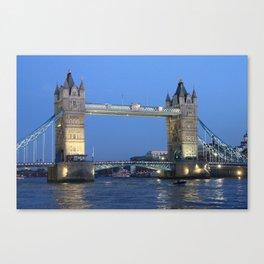Tower Bridge, London Canvas Print