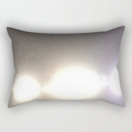 Abstracte Light Art in the Dark Version 31 Rectangular Pillow