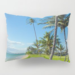 Waipuilani Beach Kihei Maui Hawaii Pillow Sham