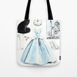 Fairytale Story Collage 1 Tote Bag