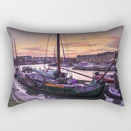 Bristol Harbour Sunset Rectangular Pillow