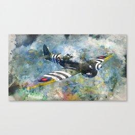Hawker Tempest Canvas Print