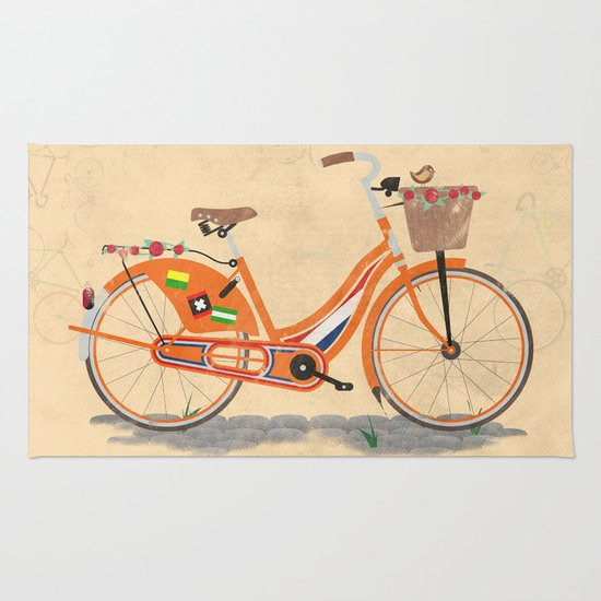 Love Holland, Love Bike Rug