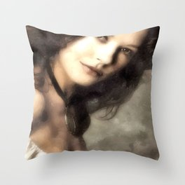 Catherine Zeta Jones Throw Pillow