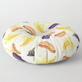 Phallic Food Friends Floor Pillow