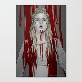 Lagertha Lothbrok Canvas Print