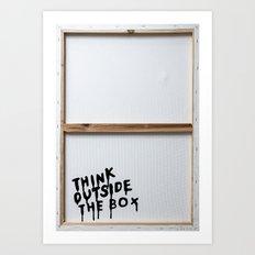 THEBOX Art Print