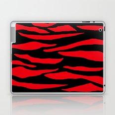 Red Zebra Print Laptop & iPad Skin
