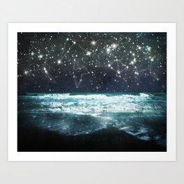 The Greek Upon the Stars Art Print
