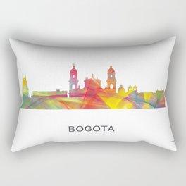 Bogata Colombia Skyline Rectangular Pillow