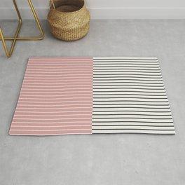 Color Block Lines XIV Rug