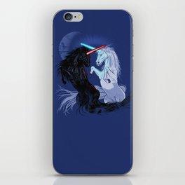 Retold with Unicorns iPhone Skin