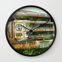 Vintage Chevy Truck Wall Clock