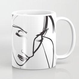 Sketch Wall Art Coffee Mug