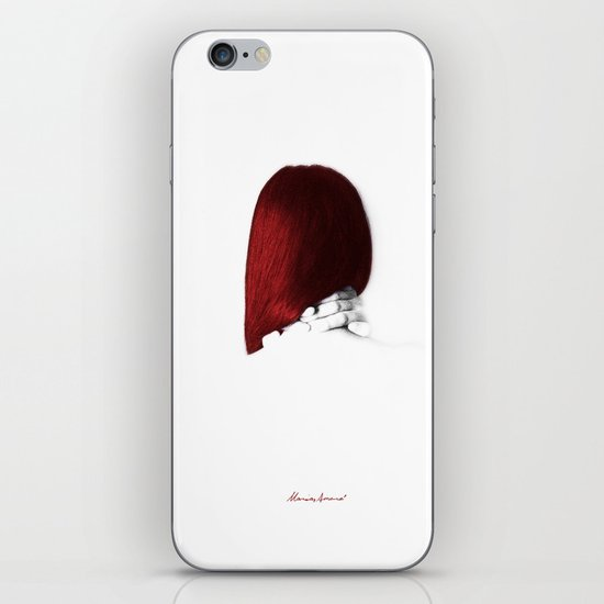 I Was Silent iPhone Skin