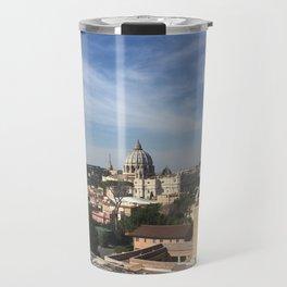 Vatican Skyline Travel Mug