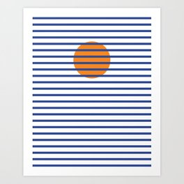 Sunshine Sea Art Print