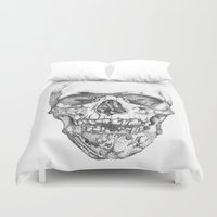 obey Duvet Covers featuring work & obey by Mark Alexander Gascoigne