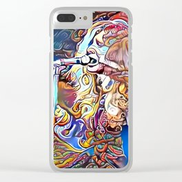 Janis I Clear iPhone Case