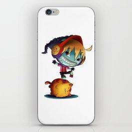 Dark Cat Monster iPhone Skin