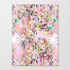 FLORAL ARROW Canvas Print