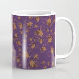 Adorable bats for Halloween (Purple) Coffee Mug