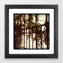 entanglements Framed Art Print
