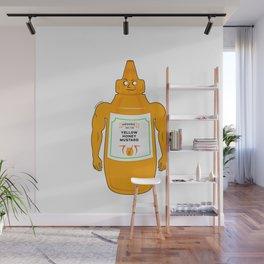 Mustard Man Wall Mural