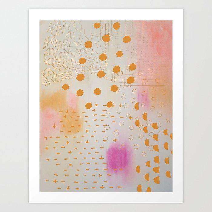 Chalkdust Art Print