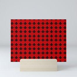 Fleur-de-lis Mini Art Print