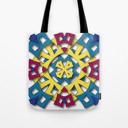 abstract aztec sun Tote Bag