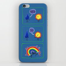 Let's Make Rainbows iPhone & iPod Skin