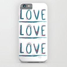 Love Love Love Slim Case iPhone 6s