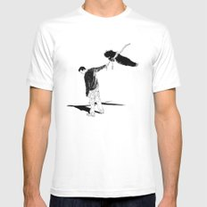 preoccupied Mens Fitted Tee White MEDIUM