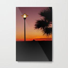 tramonto semplice Metal Print