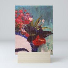 Flowers4 Mini Art Print