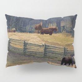 Wilderness Horse Ranch Pillow Sham
