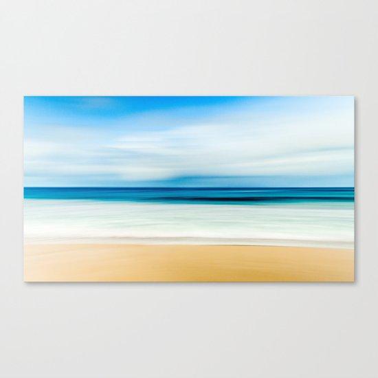 Pastel Ocean mood Canvas Print