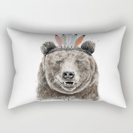 Festival bear Rectangular Pillow