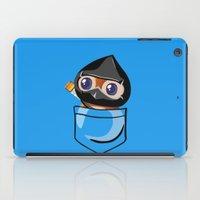 warcraft iPad Cases featuring Ninja Pepe! by SlothgirlArt