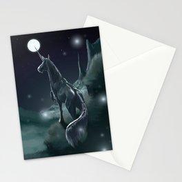 Dark Unicorn Stationery Cards