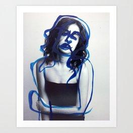 Margret Art Print