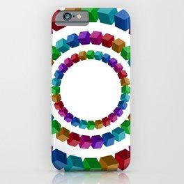 Circles illustion penrose iPhone Case