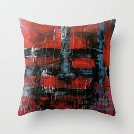 Never be blinded by reality Throw Pillow